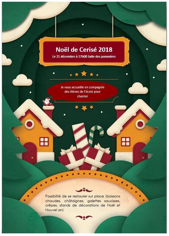 Noel de Cerisé 2018
