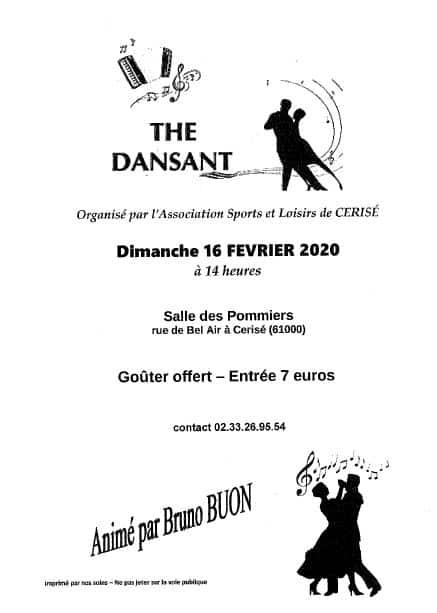 Thé dansant de l'association Sports et Loisirs  2020