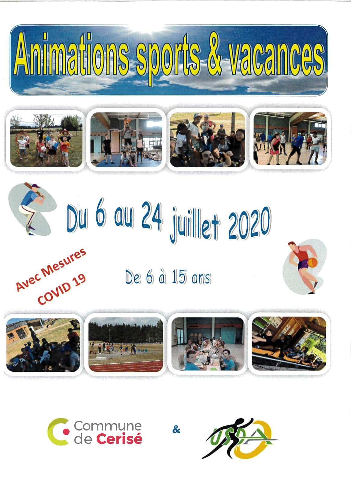 Animation Sports & Vacances 2020