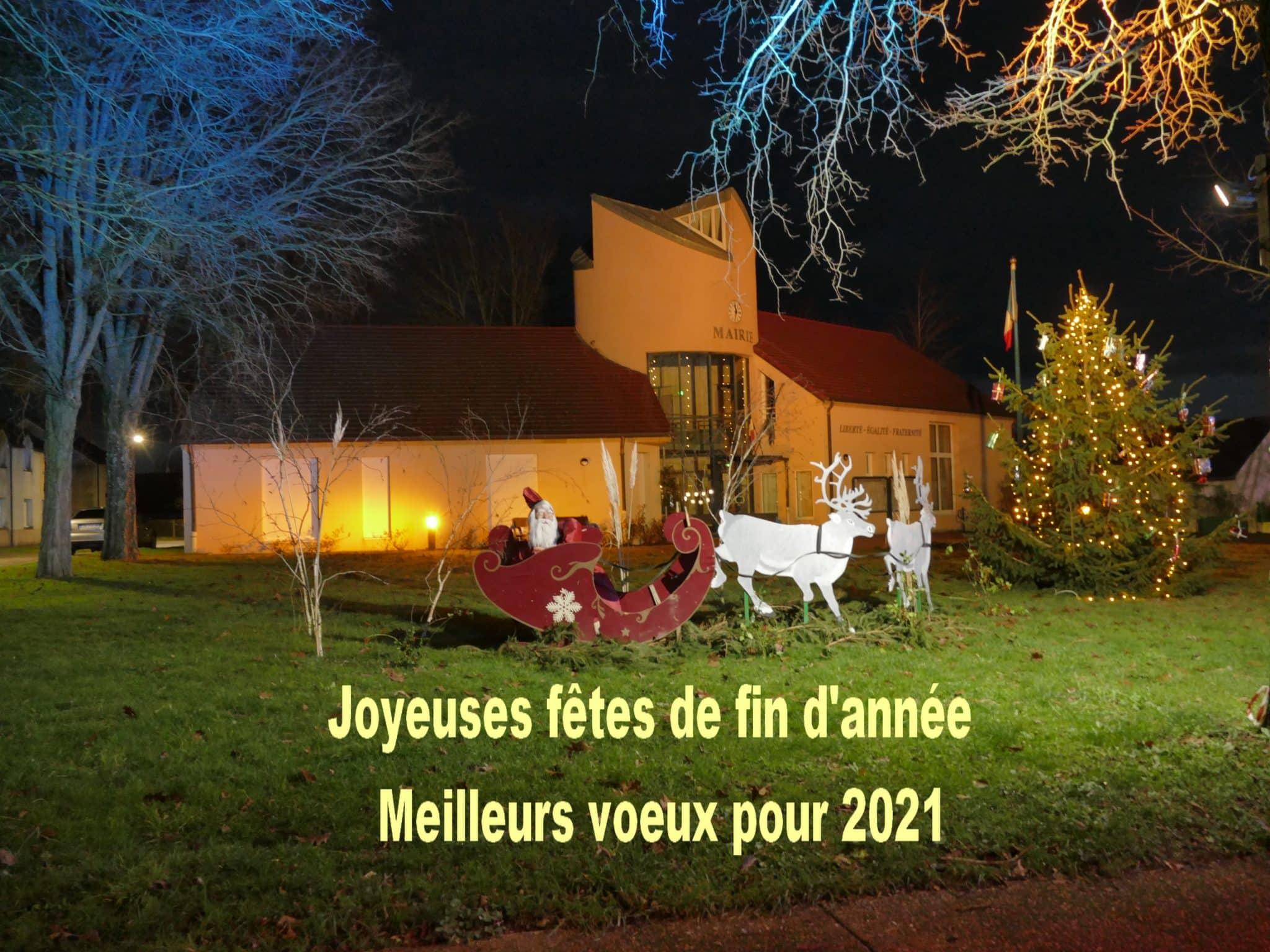 Fermeture mairie Congés de Noël