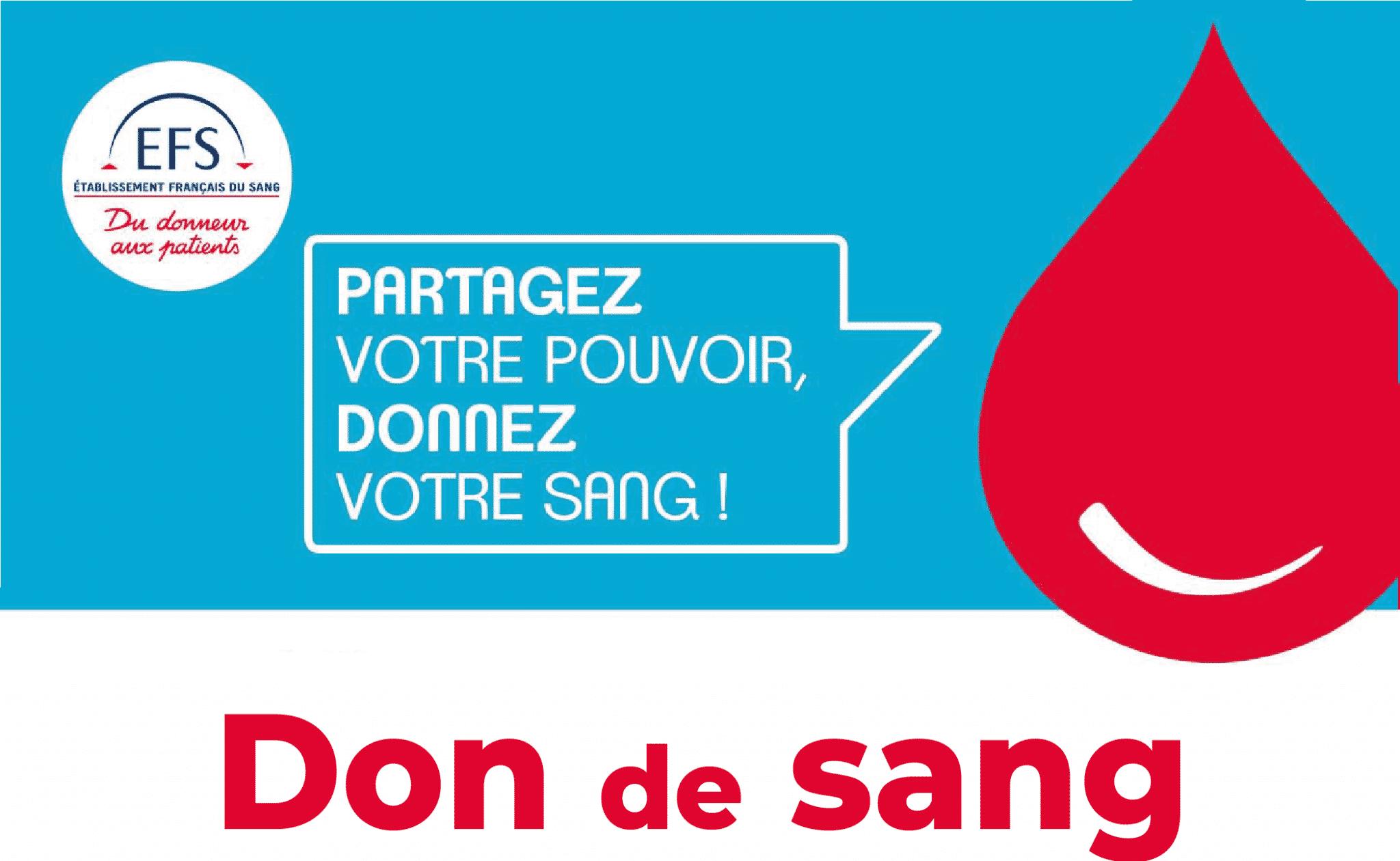 Don du sang à Alençon vendredi 19 mars 2021 de 10h à 14h